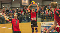 Bühler Volleyball-Bundesligisten kämpfen sich zum Sieg – Nach 2:2 Tie-Break-Sieg