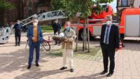 """Josef """"Sepp"""" Günther, der Storchenvater – Nachwuchs mitten in Bühl"""