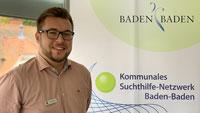 Personalie aus dem Baden-Badener Rathaus – Tim Failing neuer Baden-Badener Suchtbeauftragterr