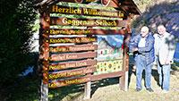 Das Murgtal hat nicht nur einen Gernsbeck - Am Friedhof, an der Kirche und nun an den Ortseingängen