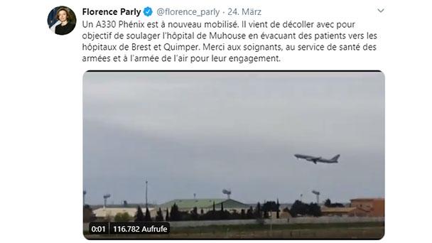 Sonder-TGV holt Corona-Patienten aus Strasbourg – Verlegt in andere französische Städte