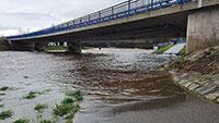 Regen sorgt für Überflutungen in Gaggenau – Unterführungen in Hörden und Rotenfels gesperrt