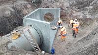 Arbeiten im Bereich Waldseebad kommen gut voran – Weitere 1.600.000 Euro für Hochwasserschutz eingeplant