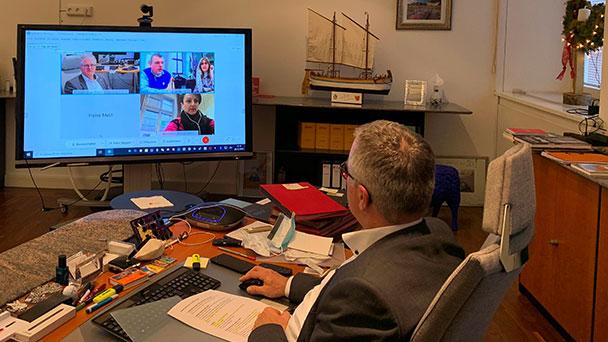 Eine Online-Reise durch die Welt – Rastatter Oberbürgermeister Pütsch berichtet über die Corona-Lage der Partnerstädte