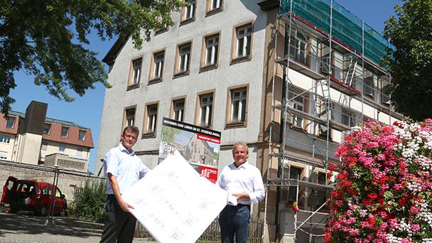Bauarbeiten im St.-Vinzenz-Areal können bald beginnen – Vier Reihenhäuser und ein Mehrfamilienhaus