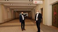 Kurhaus Baden-Baden als mögliches Impfzentrum gerüstet – Umfangreiche Instandsetzung beendet