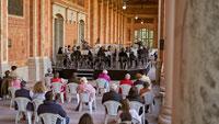 Musik der Philharmonie im Wandelgang der Baden-Badener Trinkhalle