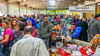 Wie in ganz alten Zeiten - Warentauschtag in Iffezheim – Ressourcenschutz und Abfallvermeidung