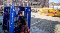 Sponsoring in Corona-Zeiten – Energieversorger Badenova mit WaschBar auf Marktplätzen
