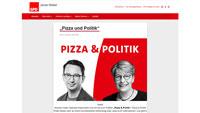 """Pizza-Connection der SPD – Jonas Weber und Gabriele Katzmarek auf der Suche nach jungen Leuten – """"Über alles diskutieren, was euch unter den Nägeln brennt"""""""