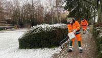 Wintereinbruch in Rastatt – Arbeitsbeginn um 4 Uhr für Mitarbeiter der Technische Betriebe