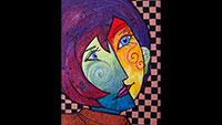 Galerie Backhouse mit neuer Ausstellung im Mai – Annette Maier mit Textil Art