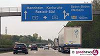 Steinewerfer auf Autobahnbrücke bei Rastatt – Polizei sucht, Zeugen