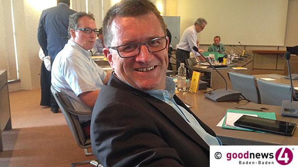 """Baden-Badener CDU-Fraktionschef Ansgar Gernsbeck zur Rolle der Stadträte: """"Verbündet sollten eigentlich alle 40 Gemeinderäte sein"""" - Keine Kritik zur Rolle der CDU beim Leo-Skandal - Für 2019: Baubereich, Schulentwicklung und Verkehrslärm"""