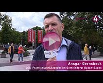 CDU-Fraktionschef Ansgar Gernsbeck zum Streit um die Fieser-Brücke