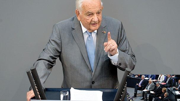 Alfred Grosser wird in Baden-Baden geehrt - Rede zur Freiheit im April 2016 beim 9. Pierre Pflimlin-Symposium