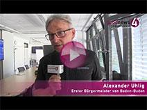 Bürgermeister Alexander Uhlig im goodnews4-Interview zu Baumaßnahmen und Hochwasserschutz
