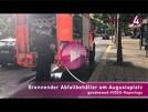 """Ignorante Passanten am Augustaplatz   Hilfloser """"Presshai"""""""