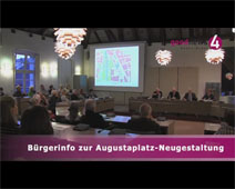 Bürgerinformation zu Augustaplatz-Neugestaltung