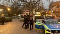Baden-Badener Augustaplatz weiter im Brennpunkt – Erneuter Polizeieinsatz