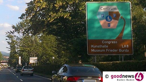 Tage der geheimnisvollen alten Blechschilder sind gezählt – Altes Parkleitsystem am Autobahnzubringer wird nächste Woche abgebaut