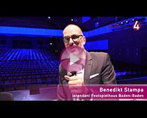 Benedikt Stampa glaubt an Rettungsschirm für Festspielhaus Baden-Baden
