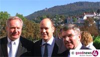 """Neuer IOC-Präsident Thomas Bach erlebte in Baden-Baden erste große Stunde - Der neue IOC-Präsident: """"Baden-Baden ist ein Meilenstein der olympischen Geschichte"""""""