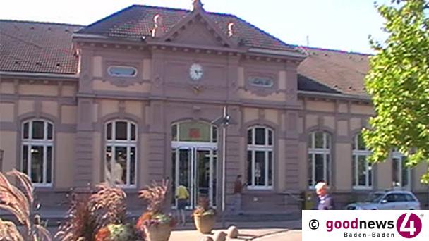 """Kuss-Zone am Bahnhof Baden-Baden - Bürgermeister Michael Geggus will Kiss & Ride """"vor dem Pavillon am Bahnhof"""""""