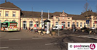 Straftäter am Baden-Badener Bahnhof geschnappt – Bundespolizei im Einsatz