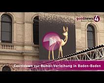 Countdown Bambi-Verleihung in Baden-Baden | Interviews mit Maximilian Lipp, Jutta Wemlinger