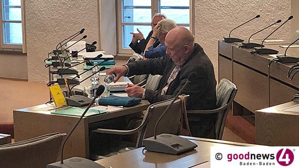 """Rathaus erinnert sich an Baden-Badens römische Geschichte – Von SPD-Stadtrat Werner Schmoll wachgerüttelt – """"Historische Bedeutung in Baden-Baden zur Unscheinbarkeit verdammt"""""""