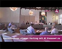 Bauausschuss stimmt Vertrag mit Al Hassawi zu