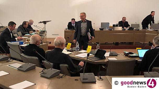 """Kostspieliger """"Dachschaden"""" im Baden-Badener Rathaus – Hoffnungsvolle Prognose von Alexander Uhlig zur Welterbebewerbung"""