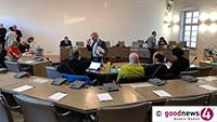 Öffentliche Sitzung Bau- und Umlegungsausschuss im Baden-Badener Gemeinderatssaal – Klinikum Mittelbaden und BABO