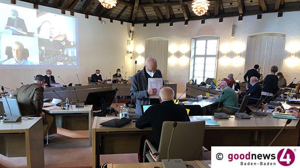 """Abend der deftigen Worte – CDU-Stadtrat Bloedt-Werner macht Baden-Badener Einzelhändlern Dampf: """"Endlich den Hintern bewegen"""" – Grüner Stadtrat Gireaud: """"Wie die Brücke aussieht ist mir wurscht"""""""