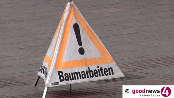 Verkehrsbehinderungen in Sandweier und Steinbach – Kosmetik für die Bäume