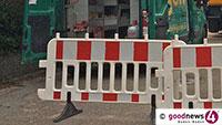 Wörthstraße bis Dienstag teilweise gesperrt