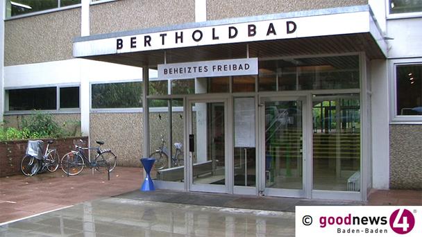 Öffnungszeiten des Bertholdbads in den Weihnachtsferien