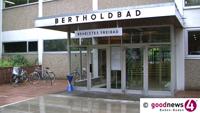 Hallenbad im Bertholdbad öffnet am 3. September