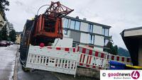 Sperrung Bergengruenstraße ab morgen – Für gesamten Verkehr