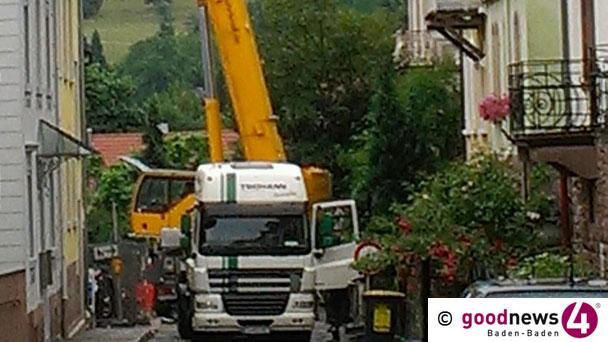 Bergengruenstraße gesperrt