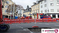 Bauarbeiten am Bertholdplatz dauern länger – Erst ab Juni wieder zweispurig