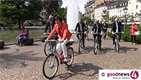 """Stadtwerke-Chef Pahl zum neuen Baden-Badener Fahrradverleih-System - """"Baden-Baden ist ja schon sehr grün"""" - """"8 Cent pro Minute, maximal 9 Euro"""""""