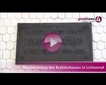 Scheckübergabe mit großem Bahnhof im Brahmshaus Baden-Baden   Christof Maisch, Katrin Schütz, Carmen Theilmann