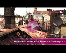 Millionenschaden nach Feuer am Sonnenplatz | Andreas Wilhelm