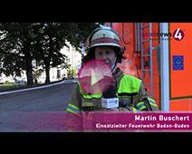 Großbrand im Baden-Badener Hotel Badischer Hof   Martin Buschert