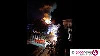 Spekulationen über Brandstiftung – Tragödie für Baden-Baden – Zweistelliger Millionenschaden im ältesten Luxushotel der Stadt