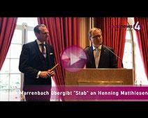 """Brenners-Chef Frank Marrenbach übergibt """"Stab"""" an Henning Matthiesen"""