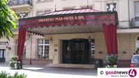 """Brenners Park Hotel stellt Betrieb ein – Schon heute Mittag 12 Uhr – """"Außerordentliche Hotelschließung"""" in Baden-Baden – Hotel-Chef Matthiesen: """"Beispiellose Umstände"""""""