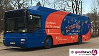 Bücherbus pausiert bis Mitte September – Stadtbibliotheken Baden-Baden und Rastatt mit unterschiedlichen Angeboten